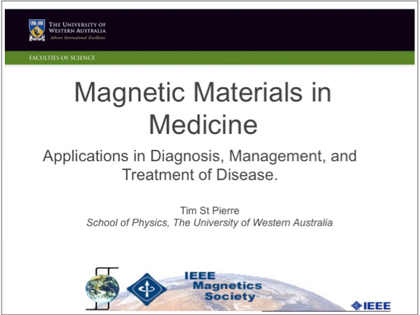 IEEE Magnetics Society Distinguished Lecture title