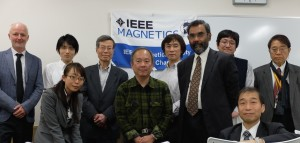 IEEE Magnetics Society DL attendees in Tokyo