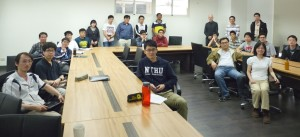 Attendees at the DL presentation at the National Tsing Hua University, Hsinchu