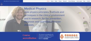 UWA Medical Physics Website