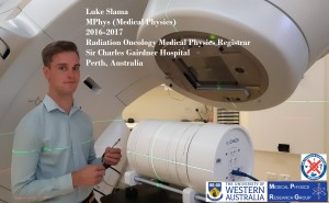 Luke Slama, UWA Medical Physics